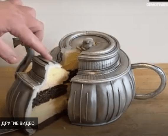 Торты в виде вещей